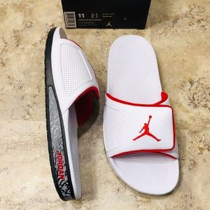 Jordan Retro III Hydro Cement Slides Mens Size 11